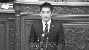 補正予算案の反対討論で昨年に続き登壇=3日、参院本会議場