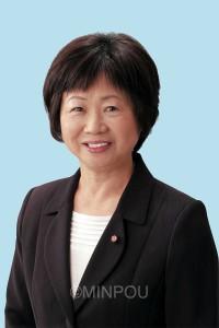 中上さち子(61)現  市議5期。市議会副議長、都市環境福祉常任委員長など歴任。元大阪市立保育所勤務。