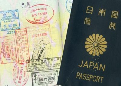 わたなべさんのパスポート