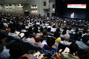 900人が参加した大阪革新懇のつどい=7月28日、大阪市中央区内