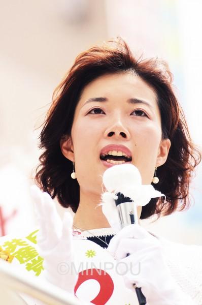 わたなべ結大阪選挙区候補 「4つの議席を自民・公明・おおさか維新の改憲勢力に独占させるわけには絶対にいかない」と訴え