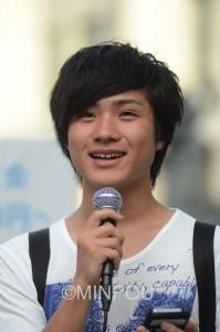 18歳初投票・かずきさんminpou