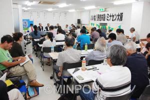 6野党代表によるトークセッション=2日、大阪市北区内