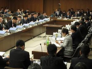 各会派が「特別区」素案について意見表明した法定協議会第7回会合=1月30日、大阪市議会特別委員会室