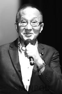 講演する笠井亮氏