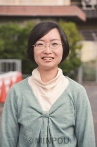 福岡明恵さんminpou