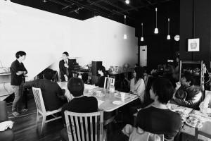 第一回目のタウンミーティング=11月10日、大阪市淀川区内