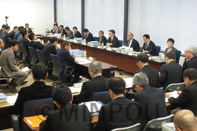 「特別区」の名称や議員定数について初めて委員間協議が行われた第22回法定協=2月22日、大阪市役所内