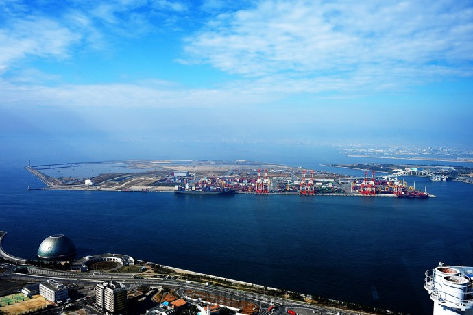 維新府市政がカジノ誘致を狙う大阪湾の埋め立て地・夢洲