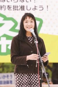 高山佳奈子さん