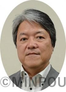 荒田功・明るい会事務局長minpouminpou