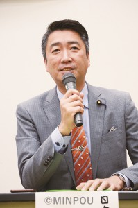 日本共産党の清水氏