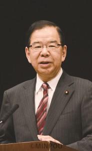講演する志位委員長=11月24日、東大阪市内