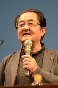 基調講演する冨田教授