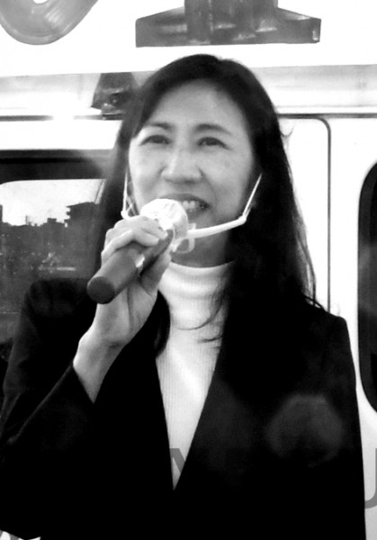 西田いく子候補